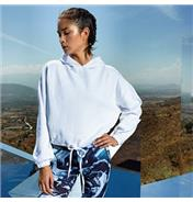 Buy TR085 Women's TriDri® cropped oversize hoodie Online